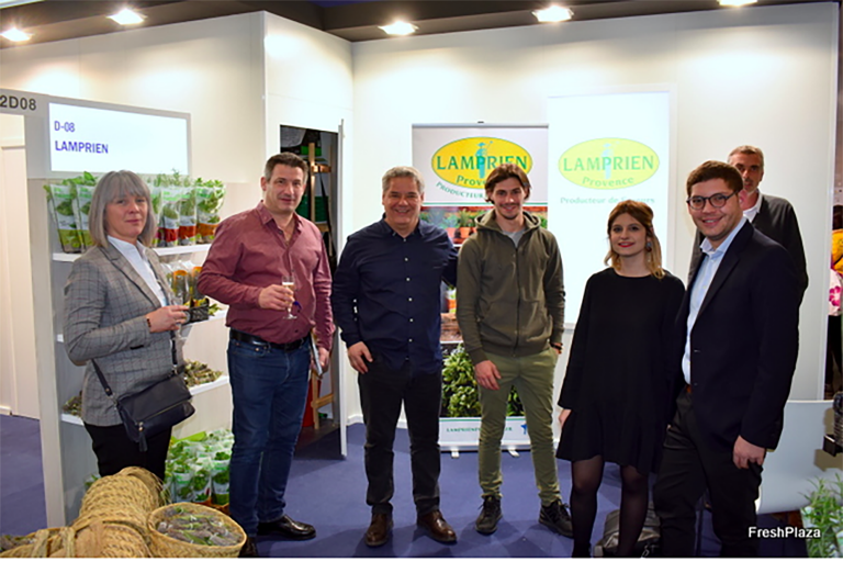 Lamprien participe au salon Fruit Logistica