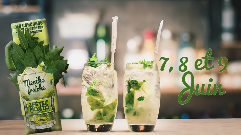 Lamprien Provence, official partner of the Mojito Festival !
